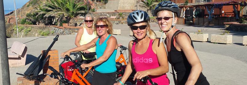 Cykelresatill Sardinien med Guide