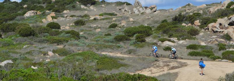 Cykelresa till Sardinien cykla på egen hand, SardiniensNordkust