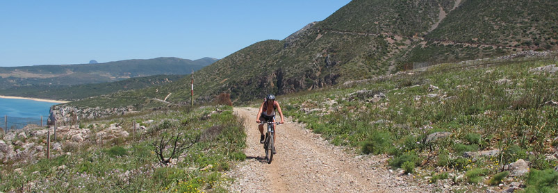 MTB Cykelresa Italien på egen hand,Sardiniens Spökstäder
